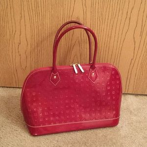EUC Arcadia patent leather handbag